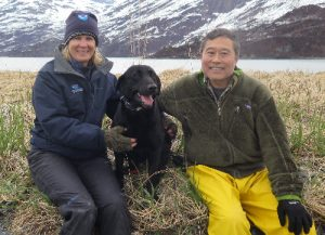 Picture of Cookie in Alaska