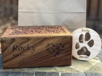 engraved urn package