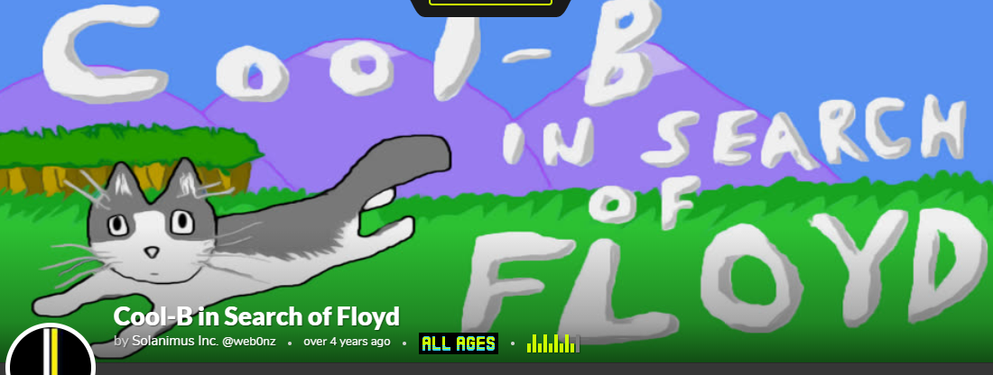 Floyd video game banner