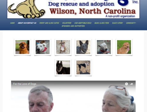 For the Love of Dogs – Wilson NC Adoption Agency