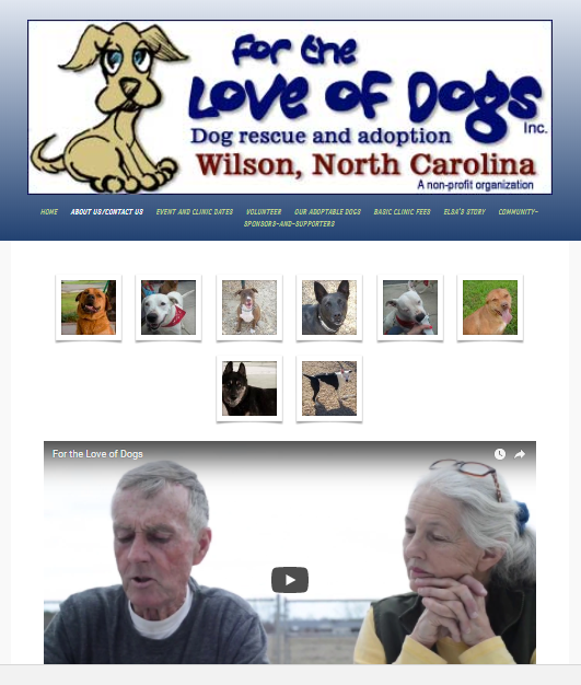 For the Love of Dogs in Wilson